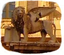 The S. Marc Lion, symbol of Venice